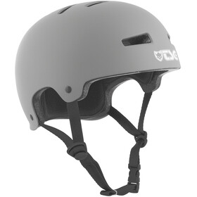TSG Evolution Solid Color Bike Helmet grey